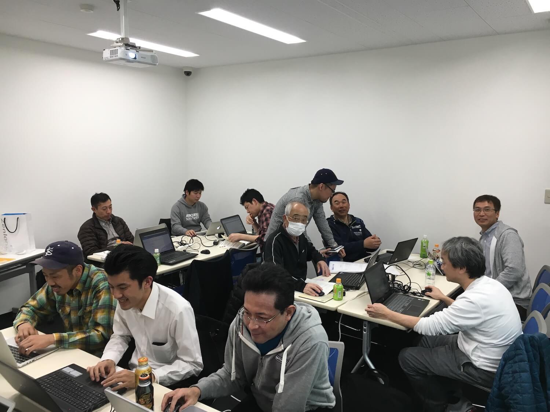 WordBench岐阜2018年2月もくもく相談会の雰囲気写真